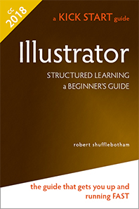 Adobe Illustrator book jacket
